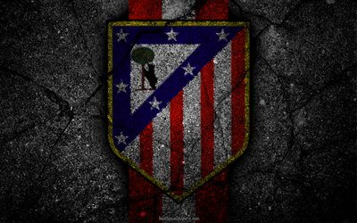 Free Download Beautiful Wallpapers With Quotes Download Wallpapers Atletico Madrid Logo Art La Liga