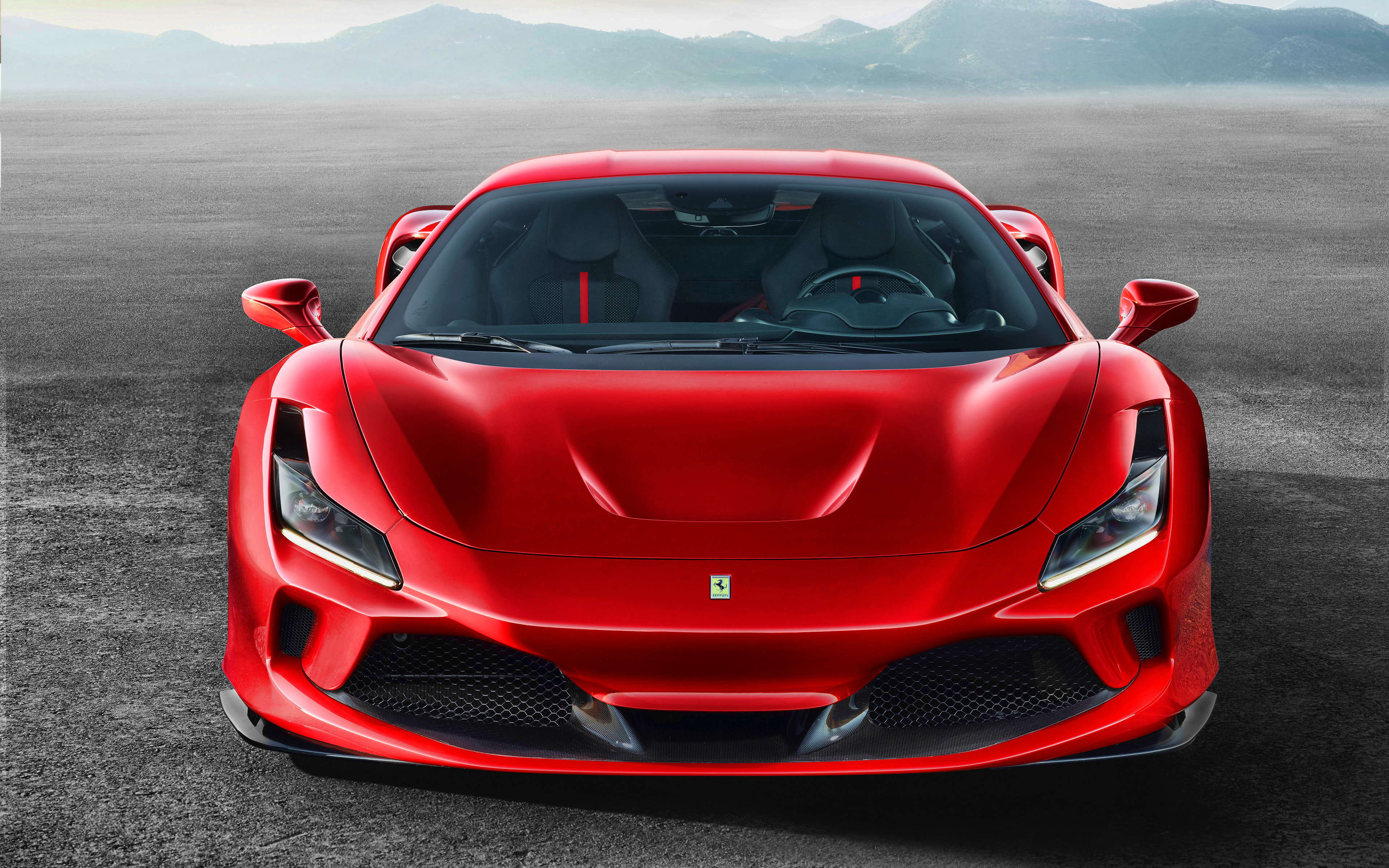 Super Cars 3d Wallpapers Download Wallpapers 4k Ferrari F8 Tribute Front View