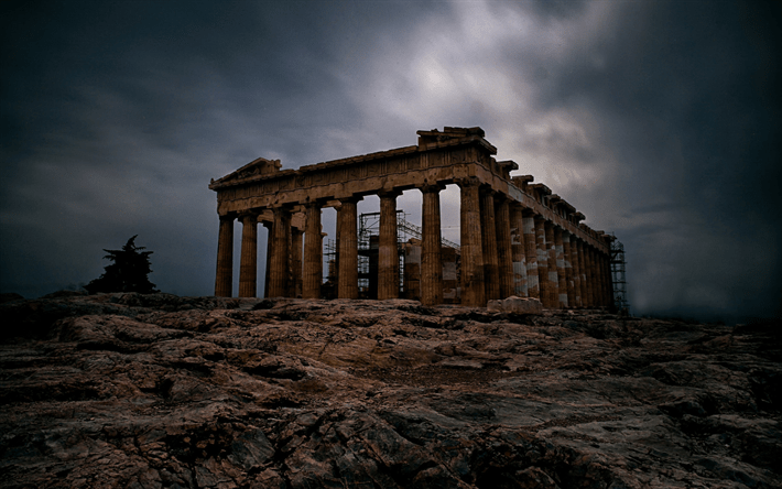Quotes Evening Wallpaper Download Wallpapers Parthenon Athens Acropolis