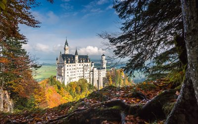 Free Download Beautiful Wallpapers With Quotes Download Wallpapers Neuschwanstein Castle Autumn Old