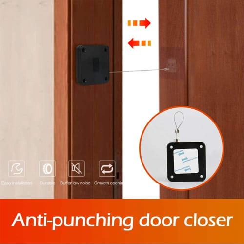 Punch Free Automatic Sensor Door Closer Review