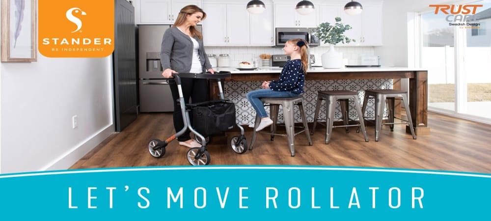 Stander lets move rollator