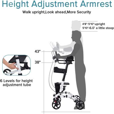 upright walker Elenker