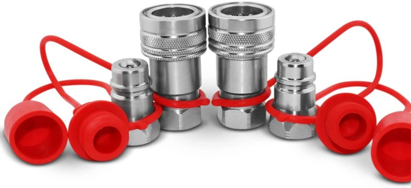 Hydraulic Quick Connect Coupler Set