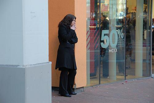 Smokers getting marginalised