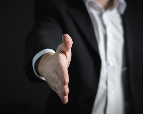 erickson handshake induction