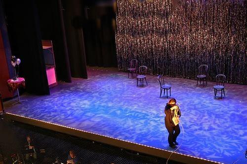 Stage hypnotist Rapid Induction