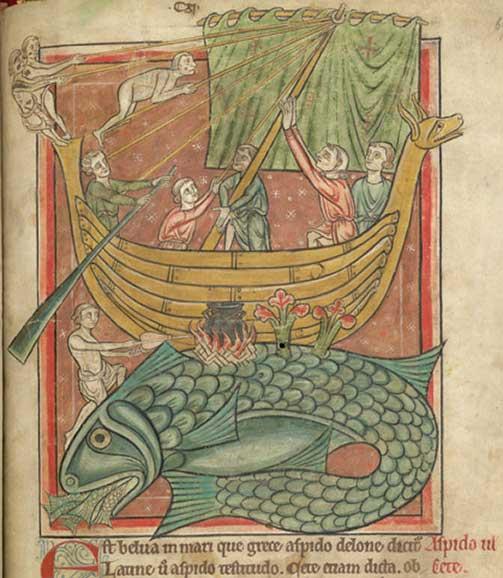 The Medieval Bestiary, Aspidochelone