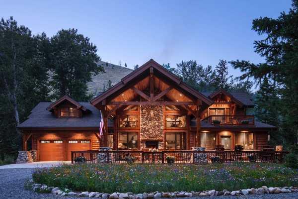 Timber Framing In American Living