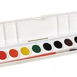 Watercolors set Prang 8 colors washable
