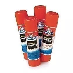 elmers glue stick .24 oz, white