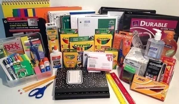 prepackaged school supply pack kit wernecke kindergarten kg boy
