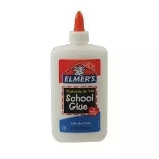 Glue, Elmers school washable, 7-5/8 bottle