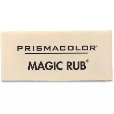 Eraser white magic rub