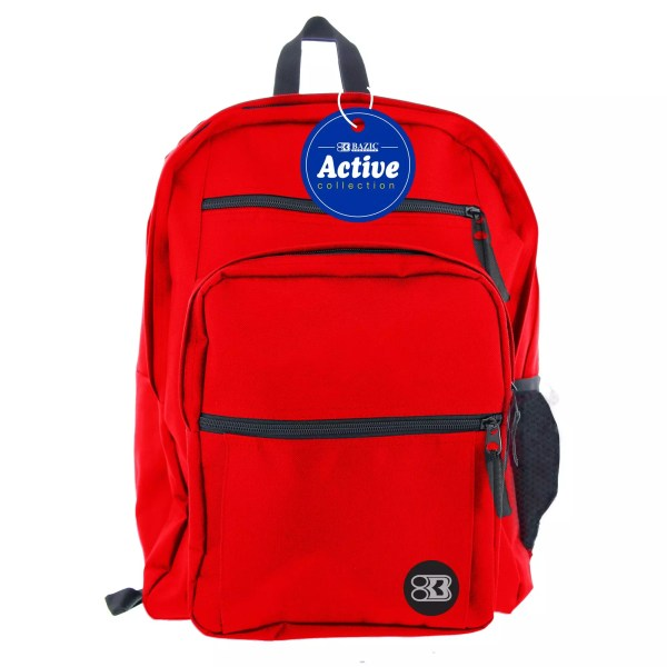 "backpack active 17"" student middle school high school college"