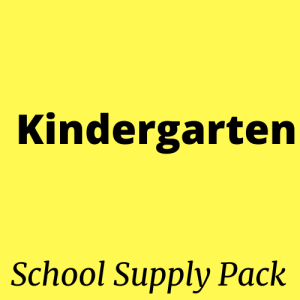 kindergarten school supply aaaaaa