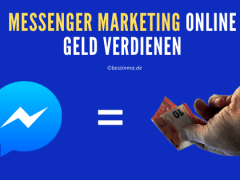 Messenger Marketing Online Geld verdienen