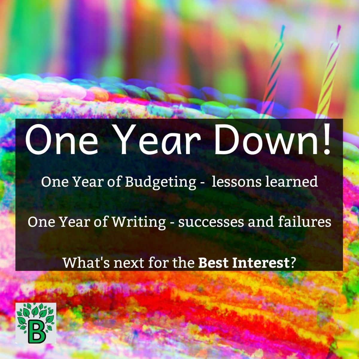 One year anniversary Best Interest