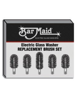 Bar Maid BRS-1722 Bar Maid Replacement Brush Set