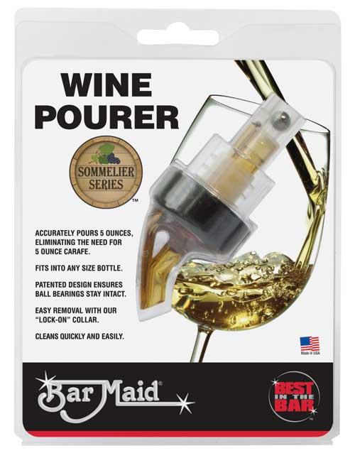 Wine Pourer 5 Oz Bar Maid Best In The Bar