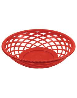 Bar Maid CR-655R Round Fast Food Basket