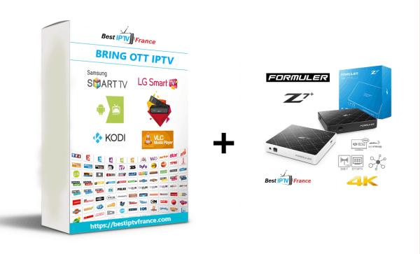 Box Formuler Z7plus + Abonnement BRING OTT IPTV
