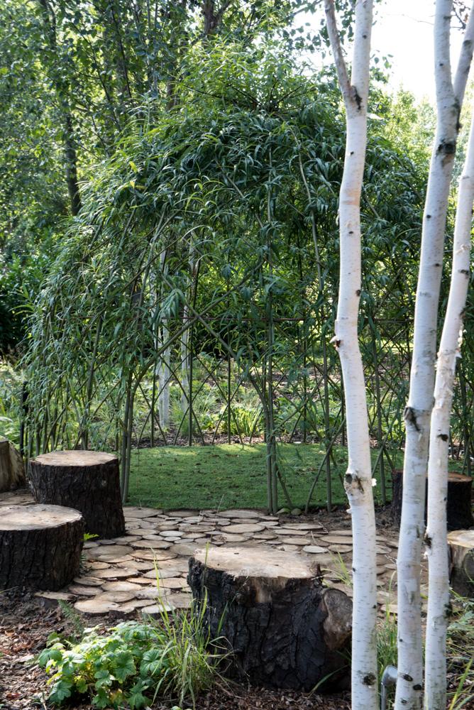 Willow teepee