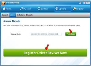 Driver Reviver Serial Key