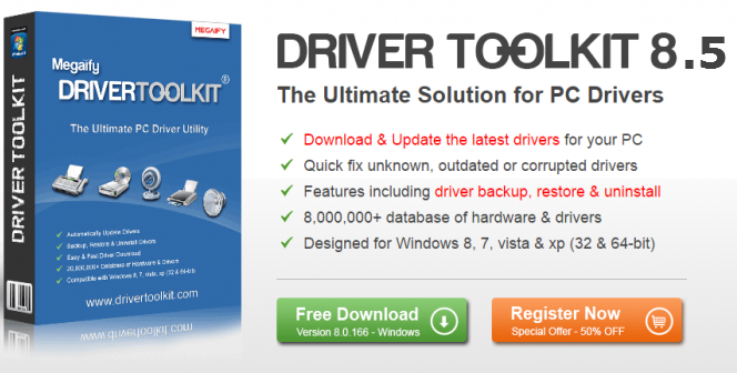 Driver Toolkit 8.5 Crack Activator License Key free