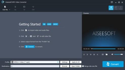 Aiseesoft MP4 Video Converter erial Key