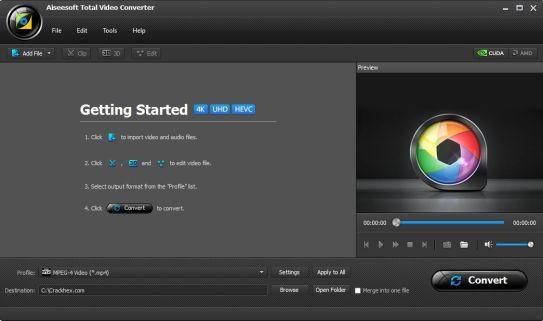 Aiseesoft Total Video Converter 9.2.10 Serial key