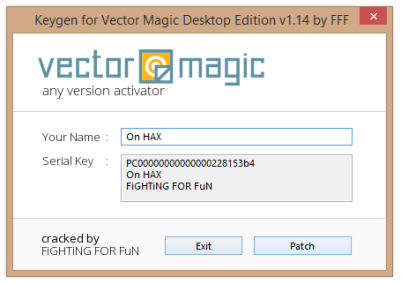 Vector Magic Product Key