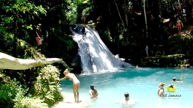 The Blue Hole Secret Falls