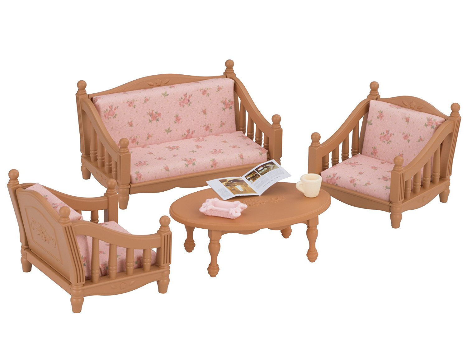 Critter Chair Sylvanian Families 2 Sets Armchair With Sofa Set And
