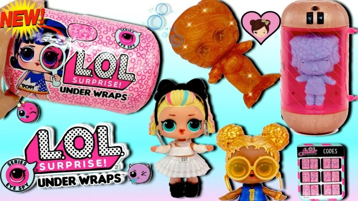 NEW LOL Surprise Underwraps Big Sisters! Unboxing Jelly Blind bags