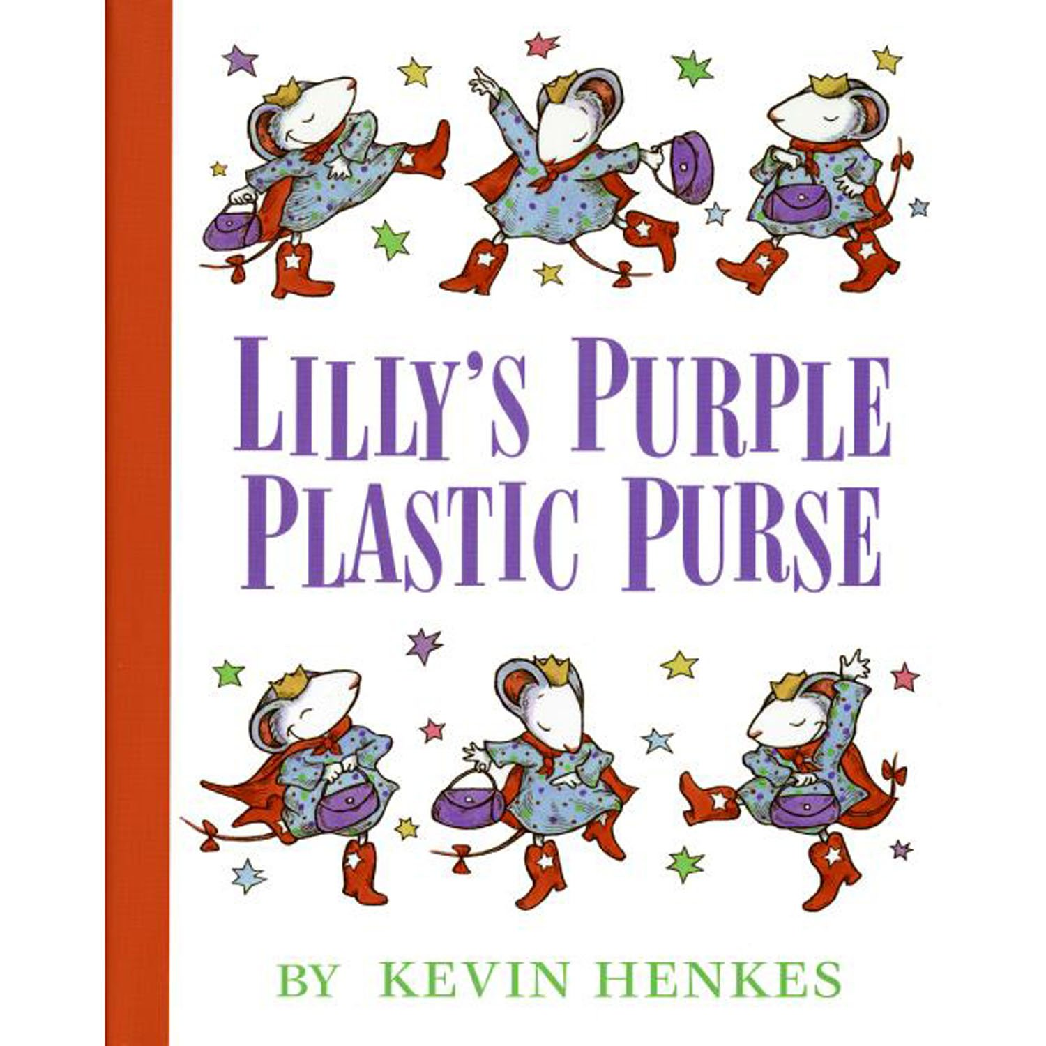 Lilly S Purple Plastic Purse