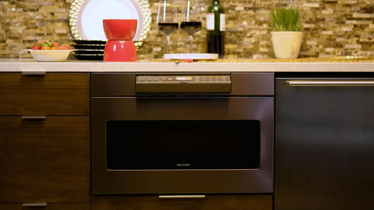 pros and cons of a microwave drawer