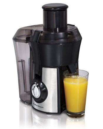 best small juicers,Hamilton Beach Juice Extractor, Big Mouth, Metallic