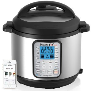 Instant Pot IP-Smart Bluetooth-Enabled Multifunctional Pressure Cooker, Stainless Steel