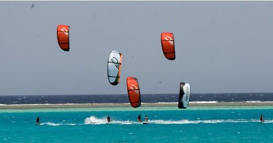 Kiting in Marsa Alam
