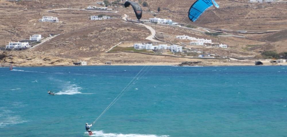 Mykonos Korfos Kiting