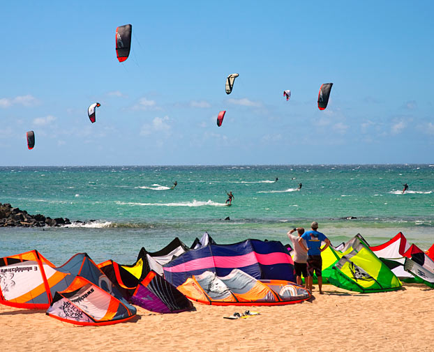 Kitebording in Maui - Hawai