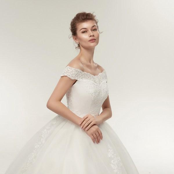 Korean Gown Wedding Dresses Bridal Dress Princess