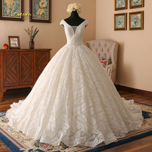 05e5cf03e2950 Lace Ball Gowns Wedding Dresses Vintage Bridal Gown - BestLadyDress