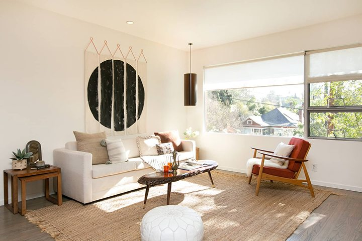 A Mid Century Modern With Bohemian Flair Hits the Market