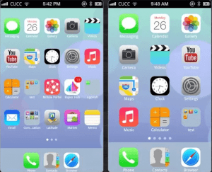 launcher of iphone 6