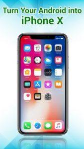iphone x launcher apk