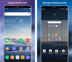 Samsung Note 8 Launcher