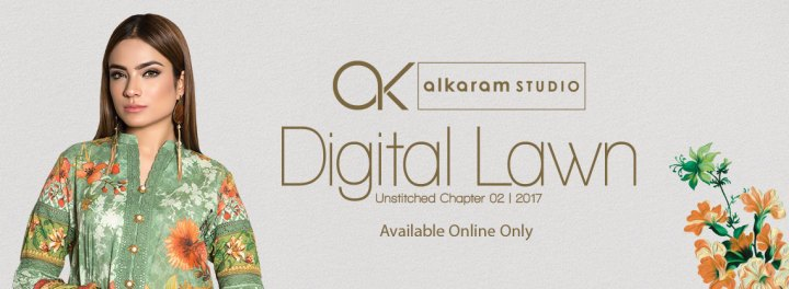 Alkaram Lawn Collection 2018