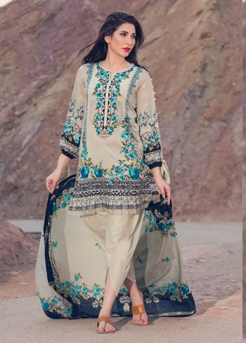 Latest Firdous Embroidered Lawn Ciceollection 2018 With Price